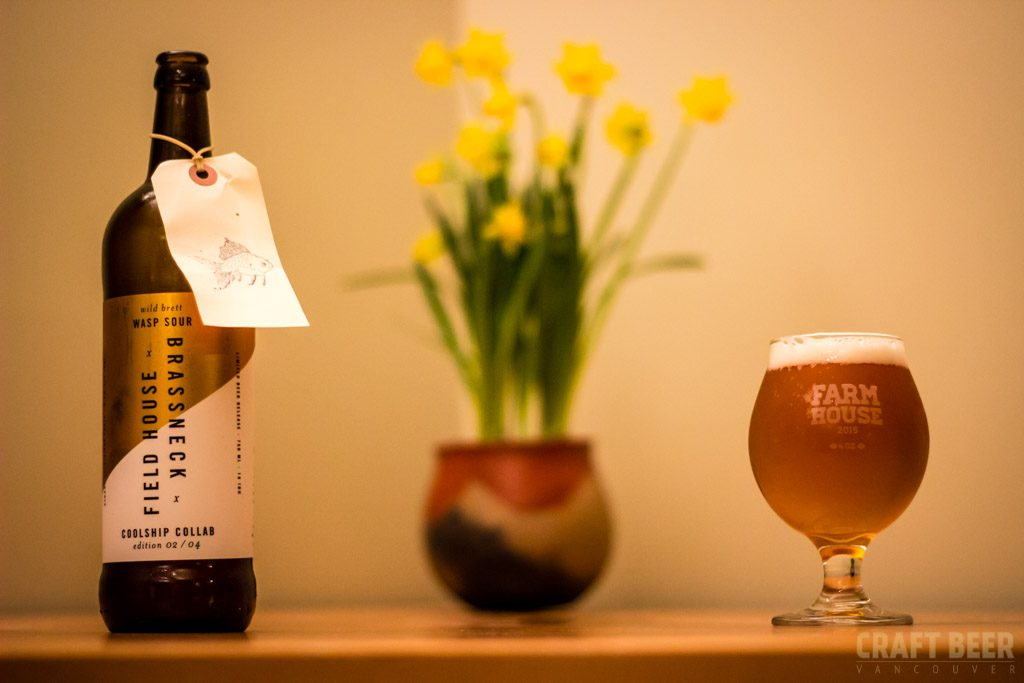 Field House Brewing Brassneck Collaboration Wasp Sour