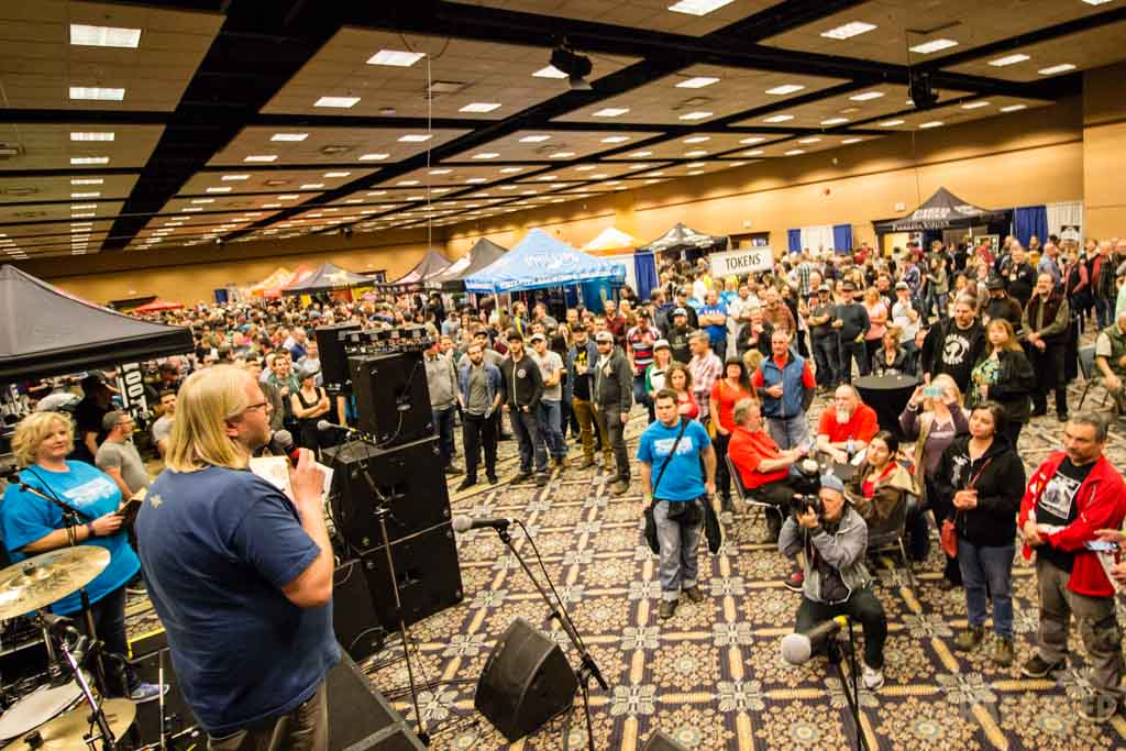 Okanagan Fest of Ale 2017 Award Ceremony from the Stage