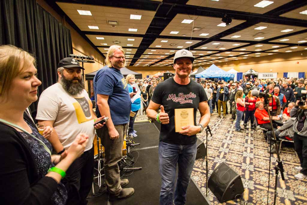 Okanagan Fest of Ale 2017 Mt Begbie Brewing Winner