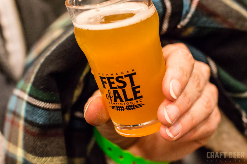 Okanagan Fest of Ale 2017 Festival Tasting Glass