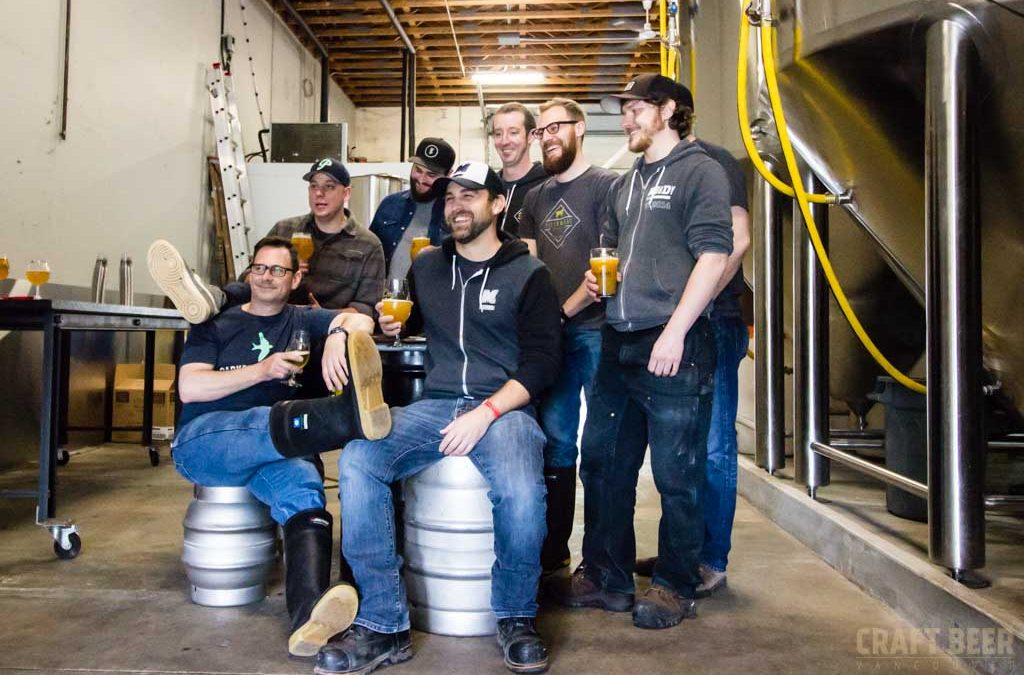Vancouver Craft Beer Week Collab Brew Day