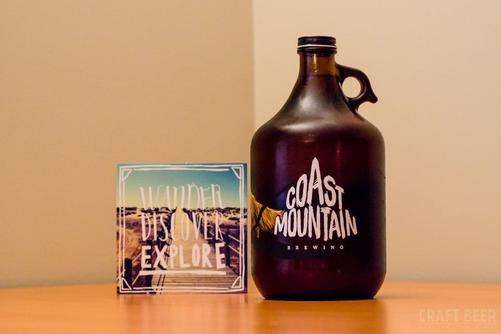 Try This Beer Coast Mountain Sunbreak Saison Growler