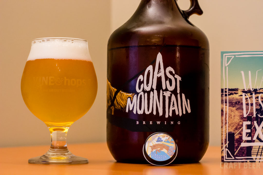 Try This Beer Coast Mountain Sunbreak Saison Glass