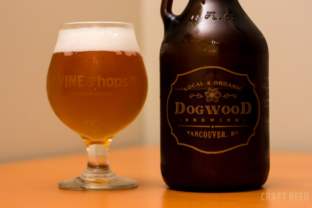 Try This Beer Dogwood Brewing Barrel Aged Wit Glass