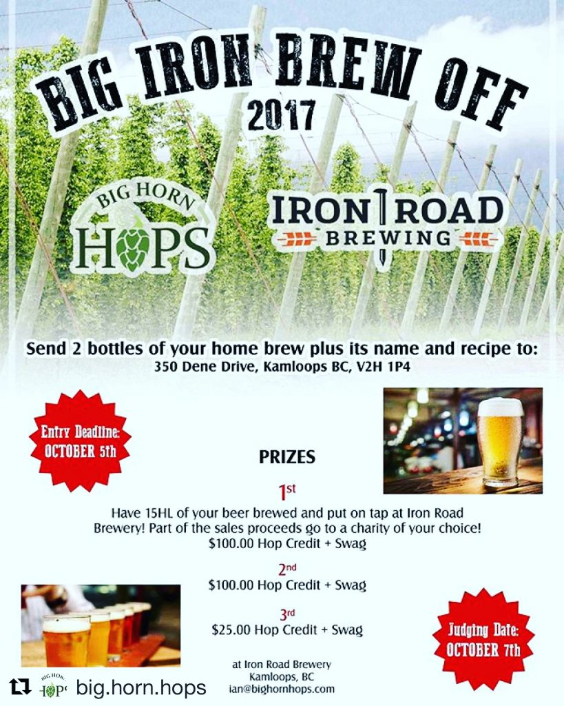 Big Iron Brew Off Home Brewing Competition
