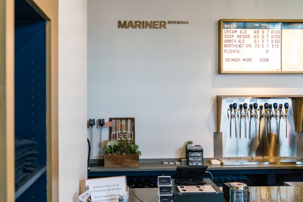 Mariner Brewing Counter