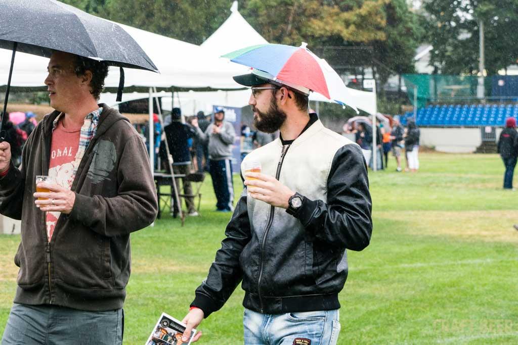 Great Canadian Beer Festival 2017 Umbrella Hat