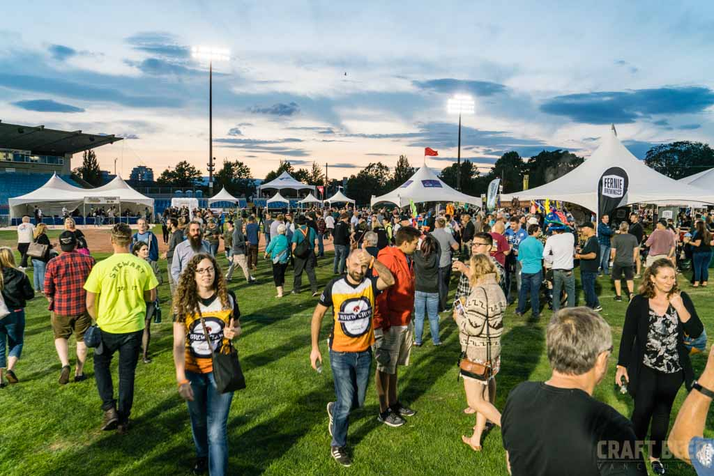 Great Canadian Beer Festival 2017 Brewer Shaking HandsGreat Canadian Beer Festival 2017 Sunset Crowd