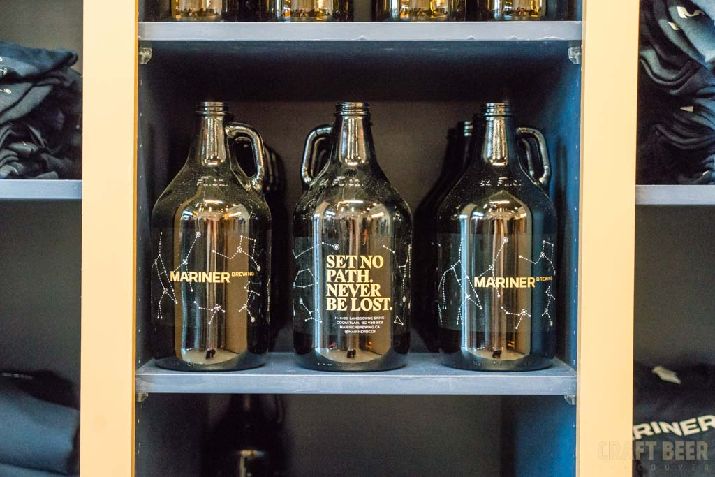 Mariner Brewing Growlers