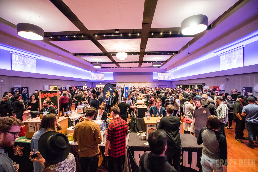 BC Beer Awards 2017 Main Hall