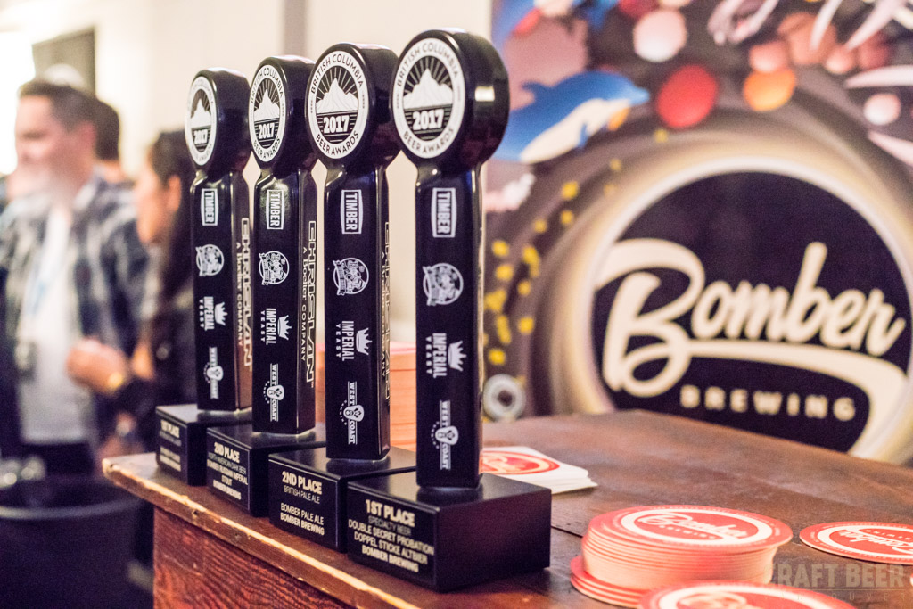 BC Beer Awards 2017 Bomber Brewing Company