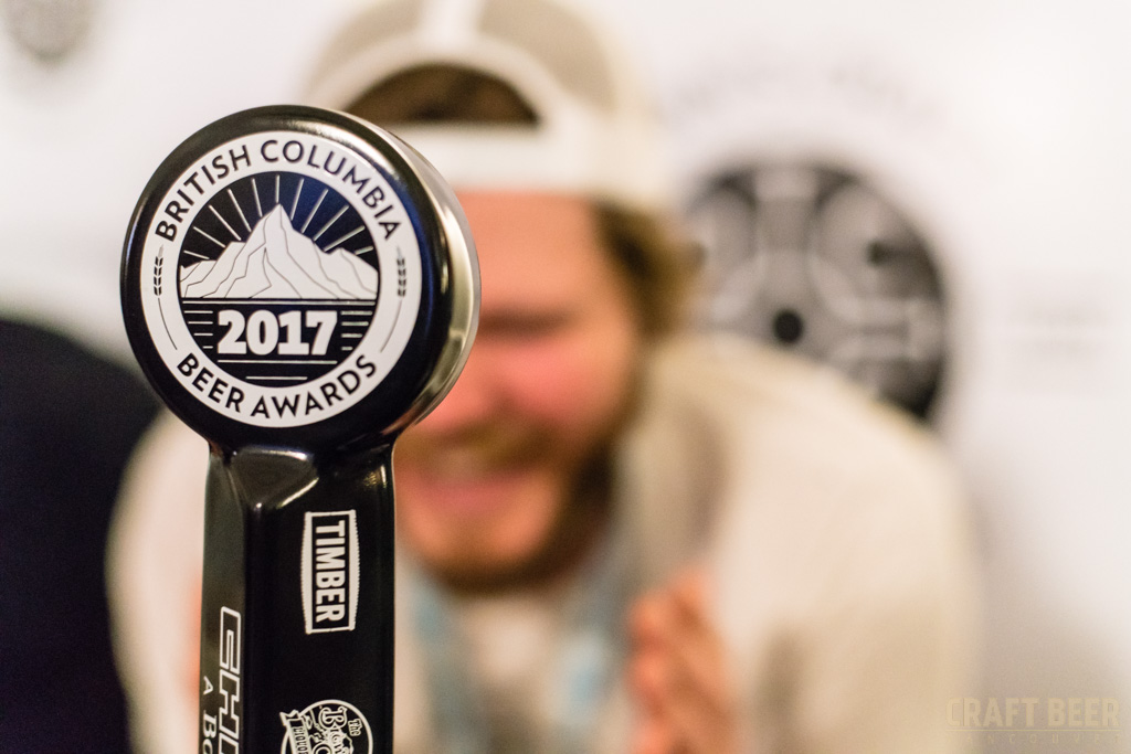 BC Beer Awards 2017 Evan Doan Photobomb