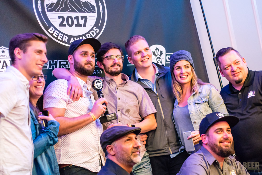 BC Beer Awards 2017 Twin Sails Innovator of the Year