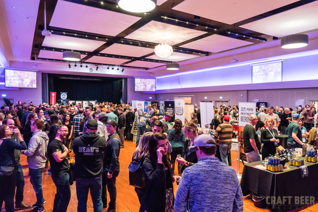 BC Beer Awards 2017 Main Hall to Stage