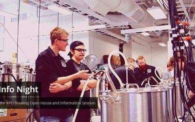 KPU Brewing Program Open House