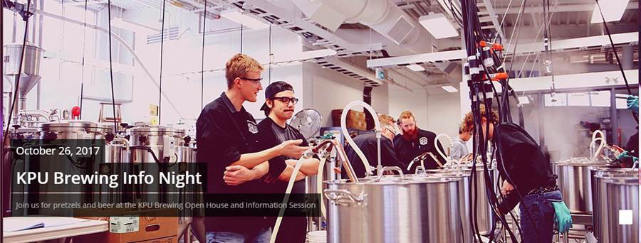 KPU Brewing Program Open House Image