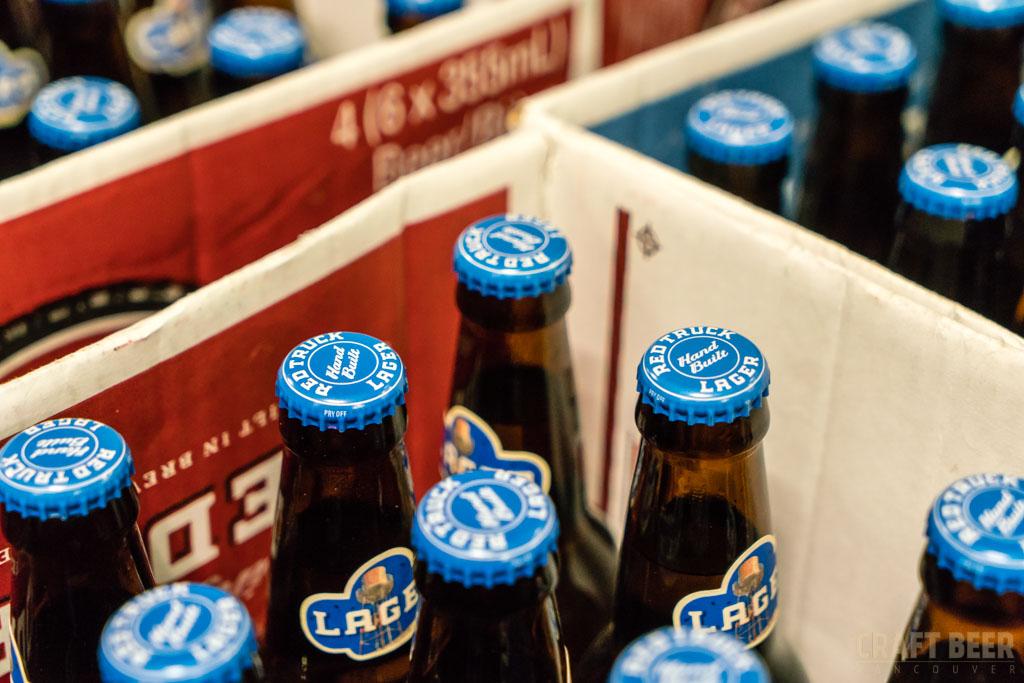 Red Truck Fall Beer Tasting 2017 Bottles for Packing