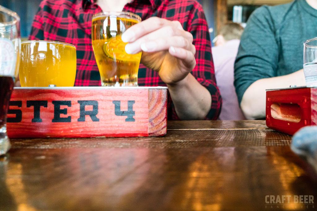 Red Truck Fall Beer Tasting 2017 Drinking Flights